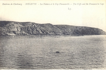 Environs de Cherbourg - Diélette - Les falaises et le cap Flamanville - The Cliffs and the Flamanville Cape